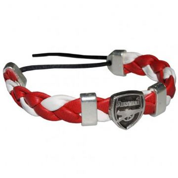 Arsenal PU Slider Bracelet